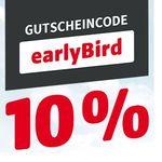 Hagebaumarkt mit 10% Rabatt auf ausgewählte Artikel – günstige Gartenhäuser- Geräte, Pflanzen & Co.
