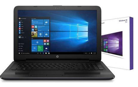 HP Notebook 15,6  mit Quad Core 4 x 2,40 GHz + 128 GB SSD + R4 für 279€