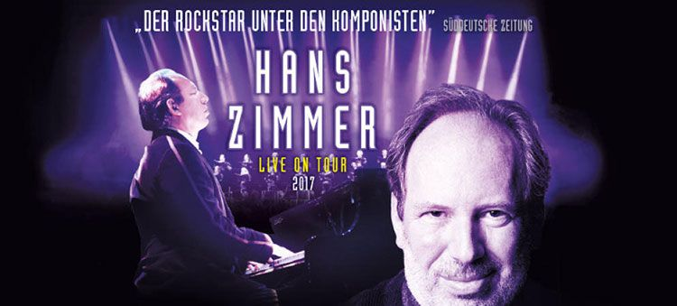 Hans Zimmer   Live on Tour am 09.06. in Frankfurt inkl. ÜN inkl. Frühstück ab 139€ p.P.
