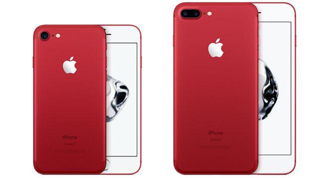 iPhone 7 rot ab 739,50€, iPhone 7 Plus rot ab 850€ (statt 859€ bzw. 990€)