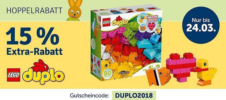 15% Rabatt auf Lego Duplo bei myToys bis Mitternacht