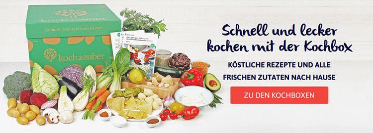 kochzauber ba Kochboxen: Ein sinnvoller Trend für Hobbyköche?