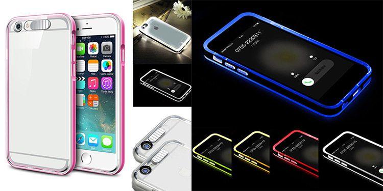 Stoßfeste LED Hülle in versch. Farben für das iPhone (ab 5er) ab 1,99€