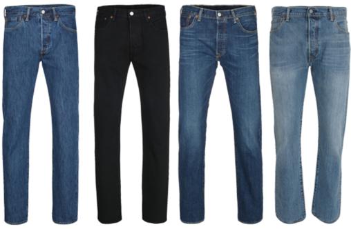Levis Herren Jeans ab 54,99€   Restgrößen