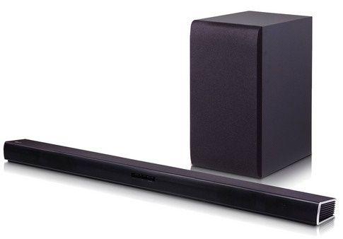 LG SH4 2.1 Soundbar + 300 Watt Subwoofer für 158,90€ (statt 266€)