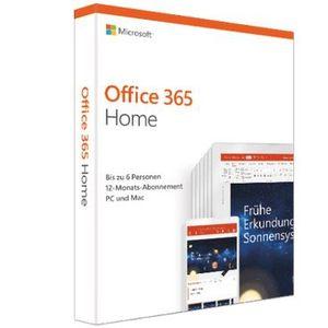 Microsoft Office 365 Home für 49,99€ (statt 63€)   1 Jahr für 6 Benutzer (Win, Mac oder Tablet)