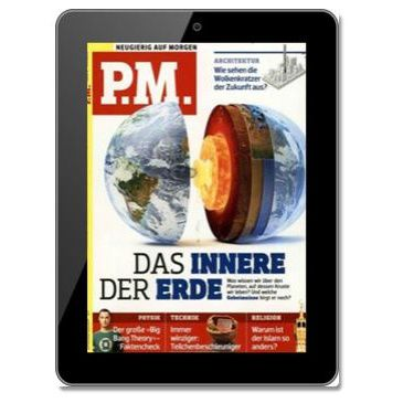P.M. Magazin   E Paper Jahresabo für 35,04€ + 30€ Gutschein