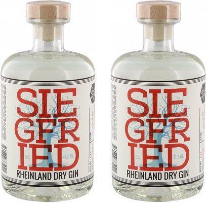 Siegfried   Rheinland Dry Gin im Doppelpack für 49,90€ (statt 59€)