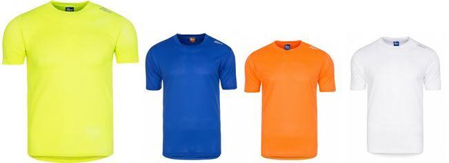 Rogelli Herren Functional Running Sport Shirt in 5 Farben für je 4,99€ (statt 18€)