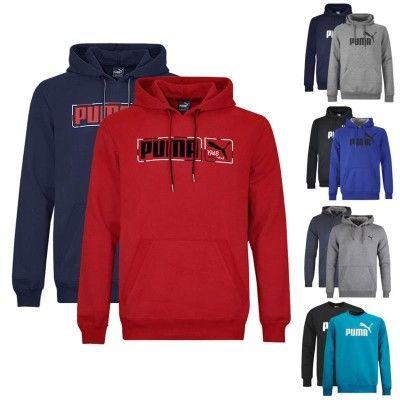 Puma   verschiedene Herren Sweatshirts und Sweatjacken für je 26,95€