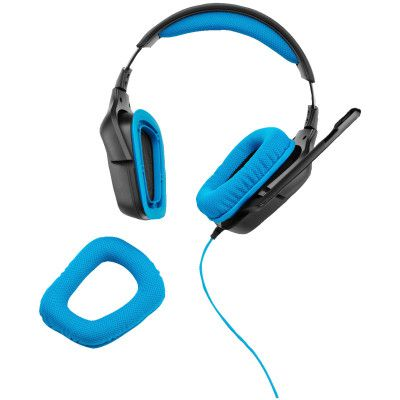 Logitech G430   Over Ear Headset mit 7.1 Surround Sound für 39€ (statt 58€)