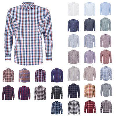 Montego Fitted Freizeithemden aus reiner Baumwolle für je 10€