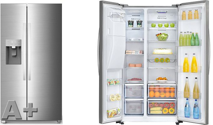 HISENSE SBS 535   Side by Side Kühlgefrierkombination mit No Frost für 674,10€ (statt 899€)