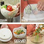 Salat in 60 Sekunden mit dem 60 Second Salad Maker für 4,19€