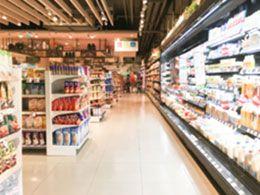 supermarkt mit frischem lebensmittel Lebensmittelmüll vermeiden: So kann es gelingen