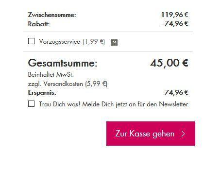Beate Uhse: 2 BHs oder BH Sets für 25€ + 10% Gutschein