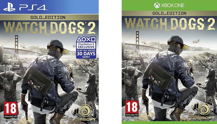 watchdogs2 Watch Dogs 2   Gold Edition (PS4, Xbox One) für 37,99€ (statt 65€)