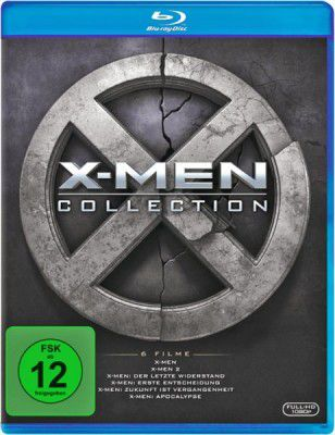 X Men Collection   X Men 1   6 (Blu Ray) für 18,49€ (statt 33€)