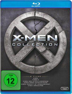 X Men Collection   X Men 1   6 (Blu Ray) für 18,49€ (statt 33€)