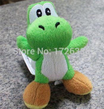 Plüschfigur (11cm) Yoshi von Super Mario Bros für 1,18€