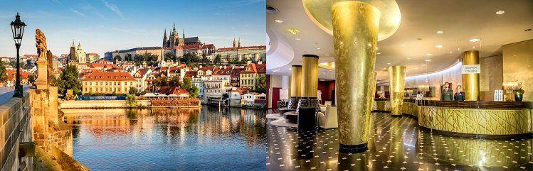 2   4 ÜN im 4* Hotel in Prag inkl. Frühstück und Bootsfahrt ab 75,50€ p.P.