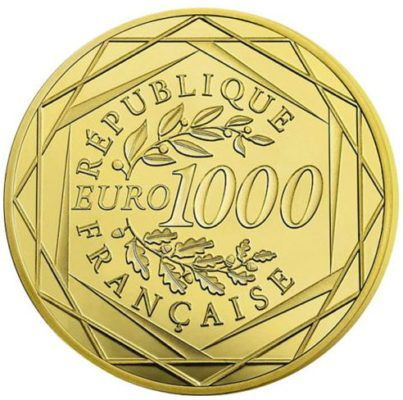 1.000€ französische Goldmünze für 1.000€