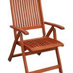 KMH Hochlehner – Gartenstuhl aus Eukalyptusholz für 44,91€