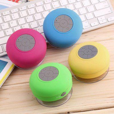 Dusch Lautsprecher mit Bluetooth und Saugnapf ab 4,45€