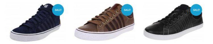 K Swiss Sale bei sneakerprofi.de mit Sneakern ab 9,99€ + 10% Gutschein   z.B. K SWISS Clean Laguna VNZ für 12,55€ (statt 20€)