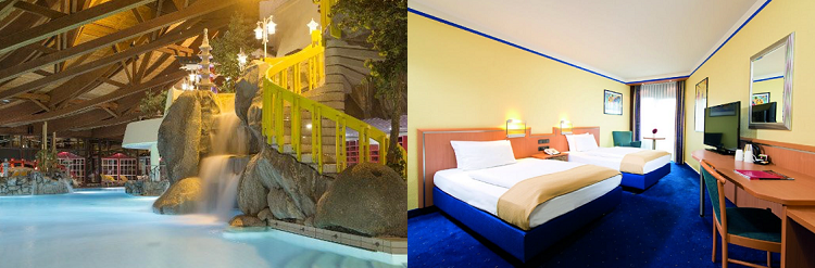 1 2 ÜN im 4* Hotel in Frankfurt inkl. Eintritt in die Taunus Therme + Frühstück ab 59€ p.P.