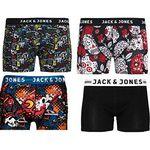 JACK & JONES – 4er Pack Herren Boxershorts in div. Größen für 22,36€