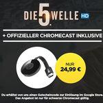 Google Chromecast 2 + HD Stream: Die 5. Welle für 24,99€
