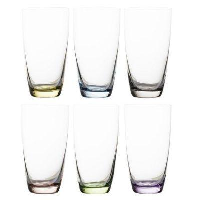 2 x 6er Gläser Set Viva Colori für 19,16€