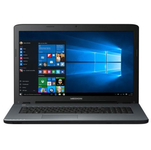 MEDION AKOYA P7641 MD 99856   17,3 Notebook mit i7 und 8GB RAM, 1TB HDD, 128GB SSD für 649€