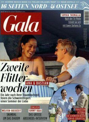 Gala Jahresabo mit 52 Ausgaben für 166,40€ + 145€ Gutschein