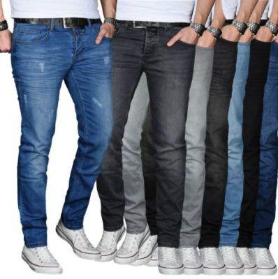 A. Salvarini    Straight Cut Herren Jeans für 29,90€