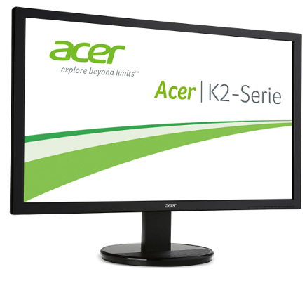 ACER K242HQLC   23,6 Zoll Full HD Monitor mit 1 ms Reaktionszeit für 99€ (statt 124€)