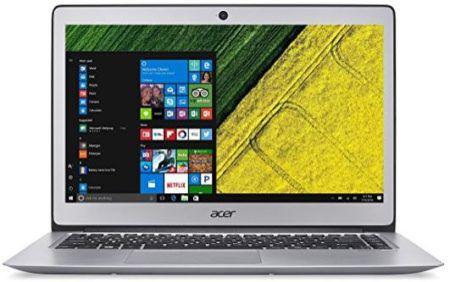 ACER Swift 3   14 Notebook mit Core i3, 4GB RAM + 128GB SSD für 499€ (statt 599€)