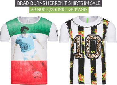 Brad Burns Herren T Shirt Restbestände Sale   Herren T Shirt nur 1,99€ (statt 20€)