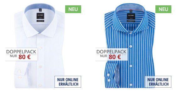3er Pack Olymp Herren Hemden Luxor Modern Fit für 110€ (statt 135€)