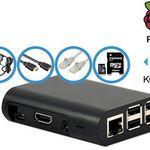 Raspberry Pi 3 Bundle mit Gehäuse und Zubehör für 65,90€