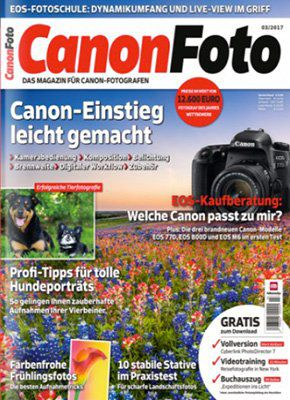 6 Ausgaben Canon Foto für 62,94€ + 15€ Gutschein