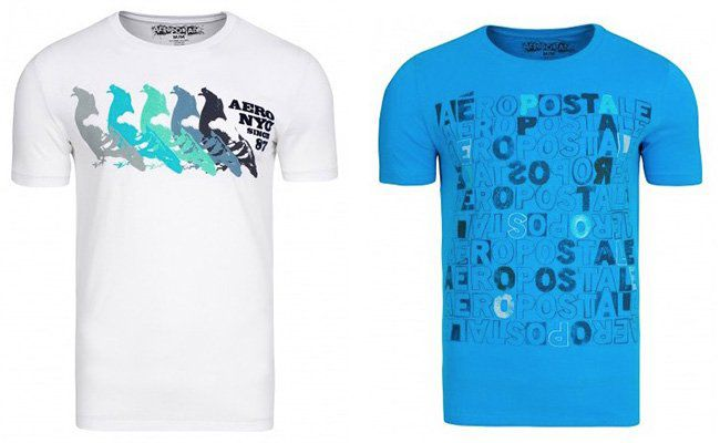 Aeropostale Herren T Shirts für je nur 4,99€ (statt 8€)