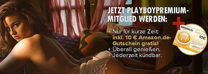 3 Monate Playboy Premium als E Paper für 15€ + 10€ Gutschein