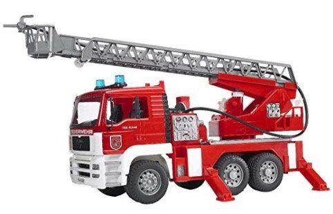 Bruder MAN Feuerwehr mit Drehleiter für 24,99€ (statt 33€)
