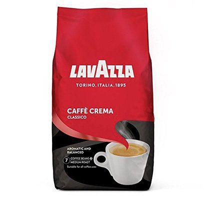 1kg Lavazza Cafe Crema Classico Kaffeebohnen für 9,99€