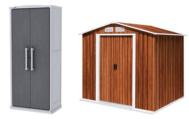 10% auf Garten  und Gerätehäuser bei Plus   z.B. Keter Optima Wonder Cabinet Schrank für 107€ (statt 119€)