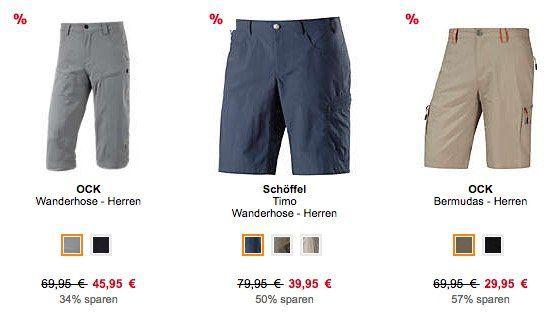 20% Rabatt auf Wanderhosen bei SportScheck   z.B. Schöffel Timo Wanderhose für 35,91€ (statt 40€)