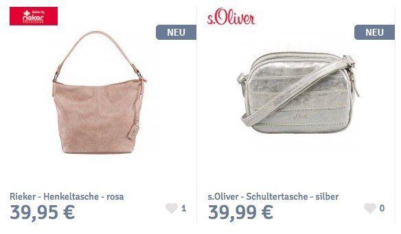 20% Rabatt auf Taschen im Schuhcenter + weitere 5€ ab 49€ dank Gutschein
