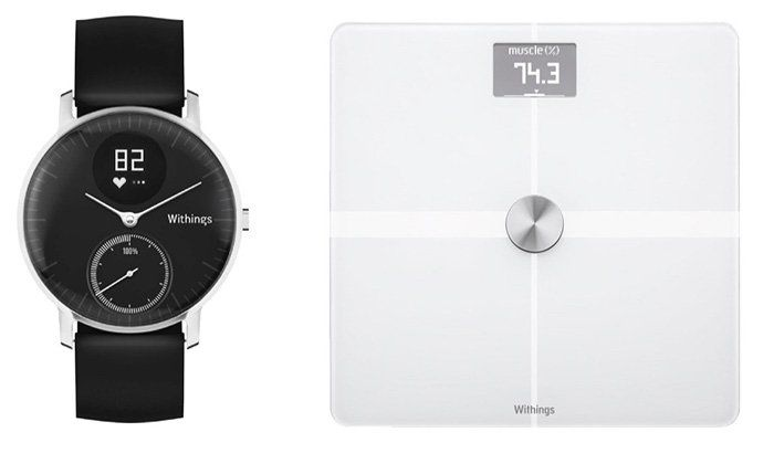 Withings Activite Steel HR Activity Tracker + Withings WBS05 Waage ab 189€ (statt 285€)